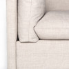 Westworld Neutral Upholstered 2-Piece Sectional Sofa