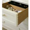 Rosalie White Kids 4 Drawers Dresser