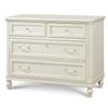 Rosalie Kids 4 Drawers Dresser - White