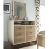 #MyRoom Modern Kids 6 Drawers Chest - White