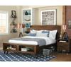 Brooklyn Loft Solid Wood Queen Platform Bed