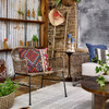 Tulip Side Table - Antique Rust