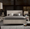 Modern Grey Oak Keaton Queen Platform Bed