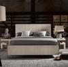 Modern Grey Oak Keaton King Platform Bed