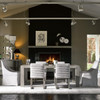 Carter Belgian Linen Upholstered Modern Dining Chair
