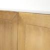 Hollywood Regency Freda Brass Clad Wrapped Sideboard