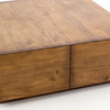 IHRM-068,DUNCAN COFFEE TABLE,RECLAIMED FRUIT WOOD