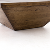 Drake Reclaimed Wood Square Coffee Table 42""