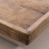 """Drake Rustic Reclaimed Wood Square Coffee Tables 42"""""""