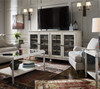 Sojourn French Country White Entertainment Centers