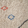 Chalice Hand-Knotted Moroccan Berber Area Rug - Ivory