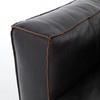 CCAR-V5-OSB, NOLITA SECTIONAL LAF-OLD SADDLE BLACK