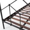 Piper Vintage Black Iron King Platform Beds