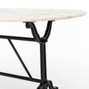 Ava Marble Dining Table 72""