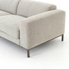 Benedict Modern Grey Fabric Upholstered Sofa 84""