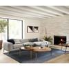 Benedict Modern Grey Fabric LAF Sectional Sofa