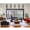 Westworld Modern Gray 5-Piece Modular Lounge Sectional Sofas