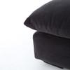 "Grant Modern Charcoal Grey 5-Piece Armless ""U"" Sectional Sofa"