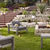 Monterey Grey Teak Outdoor Club Chairs