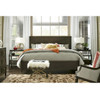 Sidney Wood Queen Panel Bed - Cocoa,788255B