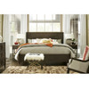 Soliloquy Sidney Wood Low Profile Bed in Cocoa