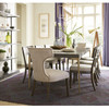 "Universal Soliloquy Brass Leg Extending Dining Table 80"",788653"