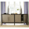 Arabella 4 Door Starburst Buffet Console78""
