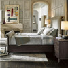 Deconstructed Tufted Chesterfield King Sleigh Bed