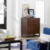 Urban Modern Marble Top Bar Cabinets
