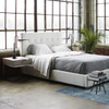 Brooklyn Panel Box-Tufted King Upholstered Beds
