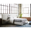 Brooklyn Extended Panel Box-Tufted Queen Upholstered Bed Frames
