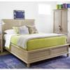 Antibes Rattan Headboard Queen Storage Bed Frames