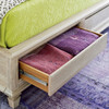 Antibes Rattan Headboard King Bed Frame with Storage