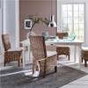 Mai Coastal Wicker Dining Room Chair with Cushion