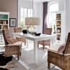 Mai Coastal Wicker Dining Room Chairs with Cushion