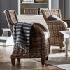 Cathy Coastal Wicker Accent Chair