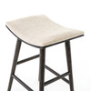 VBFS-038A-377, UNION SADDLE COUNTER STOOL-LIGHT CARBON