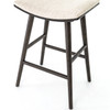 Saddle Mid-Century Oak Bar Stools