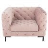 Tufty Velvet Upholstered Club Chair,HGSC416,Nuevo