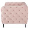 Tufty Velvet Upholstered Club Chair,HGSC416,Nuevo, Blush