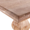 """French Farmhouse Solid Wood Trestle Dining Bench 72"""""""
