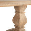 French Farmhouse Solid Wood Trestle Dining Table 72""