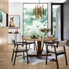 """Cobain Reclaimed Wood Round Dining Table 60"""""""