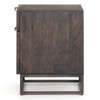 Kelby Wood and Iron 2 Drawer Filing Cabinet,IFAL-038
