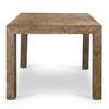 "Penn Rustic Reclaimed Wood Dining Table 74"""