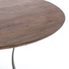 "Gage Reclaimed Wood & Iron Round Dining Table 48"",IHRM-159A"