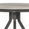 Seneca Reclaimed Wood & Iron Tripod Round Bistro Table 42""