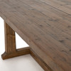 """Otto Campaign Reclaimed Wood Dining Table 110"""""""