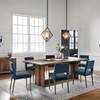 Joseph Teal Velvet Dining Room Chair,CASH-16617-091