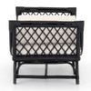 Marina Woven Ebony Rattan Chaise Daybed,223152-001